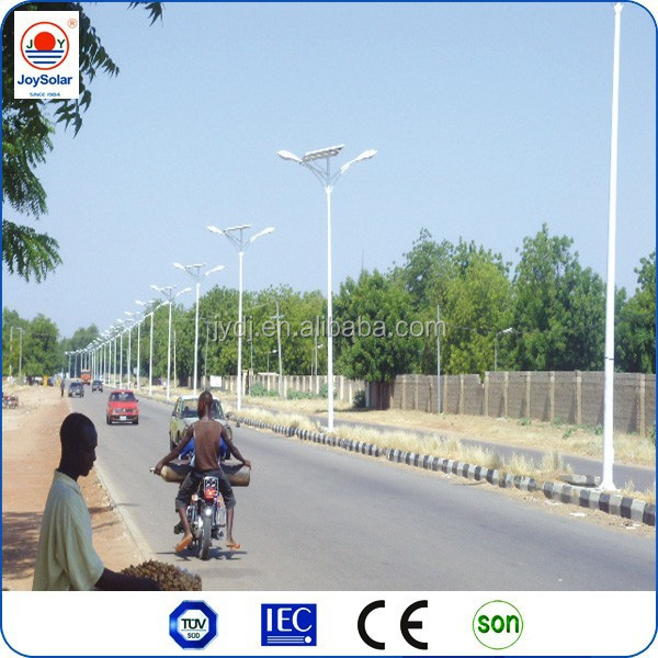 adjustable lighting angle motion sensor led solar street light