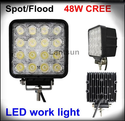 2014 hottest led work light 48w LW -1748 for 4x4 SUV