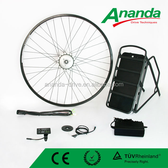 36v 180w front disk brake deive brushless bicycle engine kit, economic electric bike