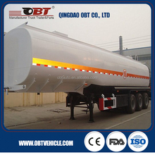 40000 45000 50000 liters oil fuel tanker transportation tank semi trailer