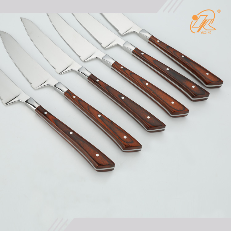 what are the best wood handle stainless steel laguiole knives
