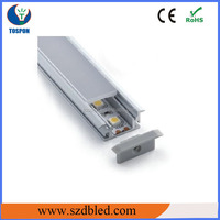 TOSPON led accessories for furniture,aluminum profile for cabinet,led strip profile +decoration