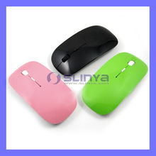 Portable Thinest 2.4Ghz USB Wireless Optical Mouse