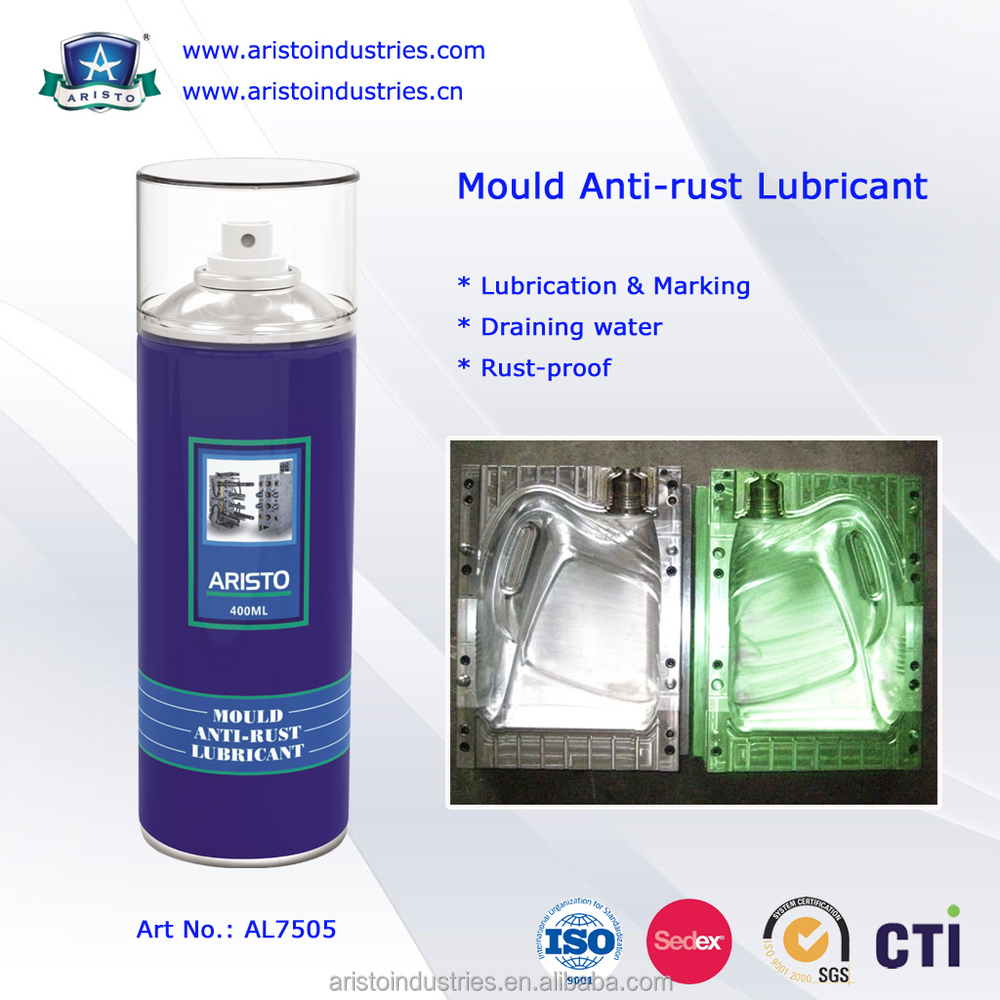 Green Film Anti - Rust Oil Based Lubricant For Metal Machinery