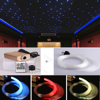 fiber optic starry sky star cinema light for ceiling lighting decoration