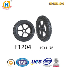 "High Performance and Strong small 12"" Solid Pu Tyre"