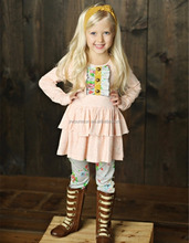 Casual design Kid Clothes Baby girl Winter wear boutique outfits