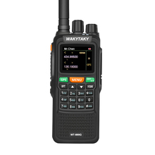 Two Way Radio Dual Band Long Distance GPS Walkie Talkie 10W 999CH 3000Mah Handheld Ham Radio for Explore Hunting