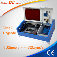 Upgraded Version 40w CO2 Laser Rubber Stamp Machine Price