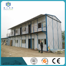 easy shipping iron sheet houses sales pretty well in Vietnam