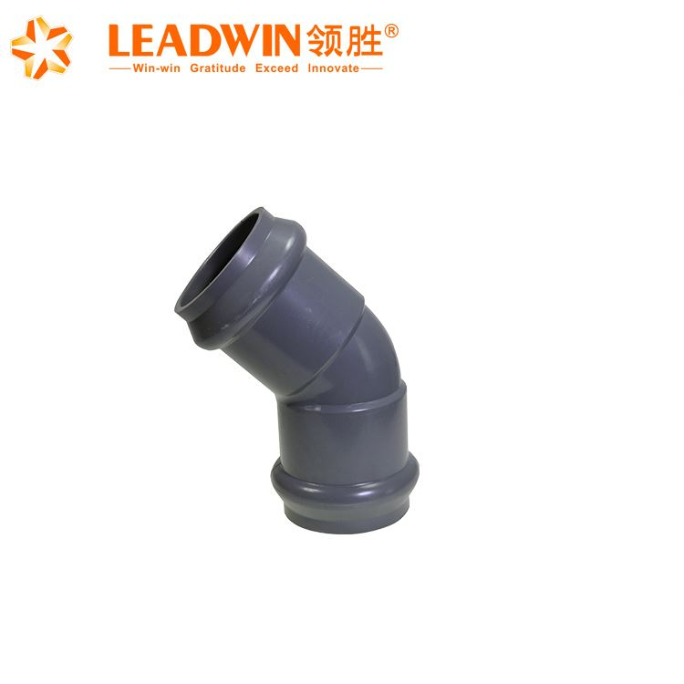 Manufacture hot sale plastic price list elbow