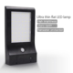 High Quality Ultra Thin Super Bright 48LEDs Solar Wall Lamp Outdoor Wall Mounted Solar Led Garden Street Light