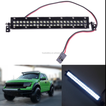 1:10 Scale RC Car Crawler Accessories Roof Super Bright LED head Light Bar 44 Leds