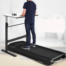 High quality jogging machine treadmill under desk for office fitting with wireless LCD display