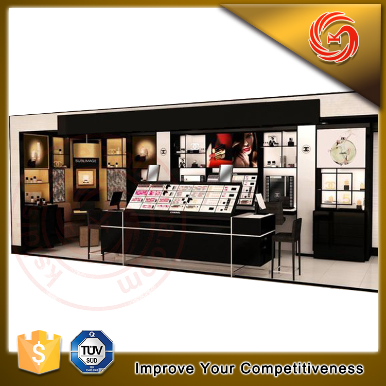 Top class decoration perfume shop for perfume store interior design