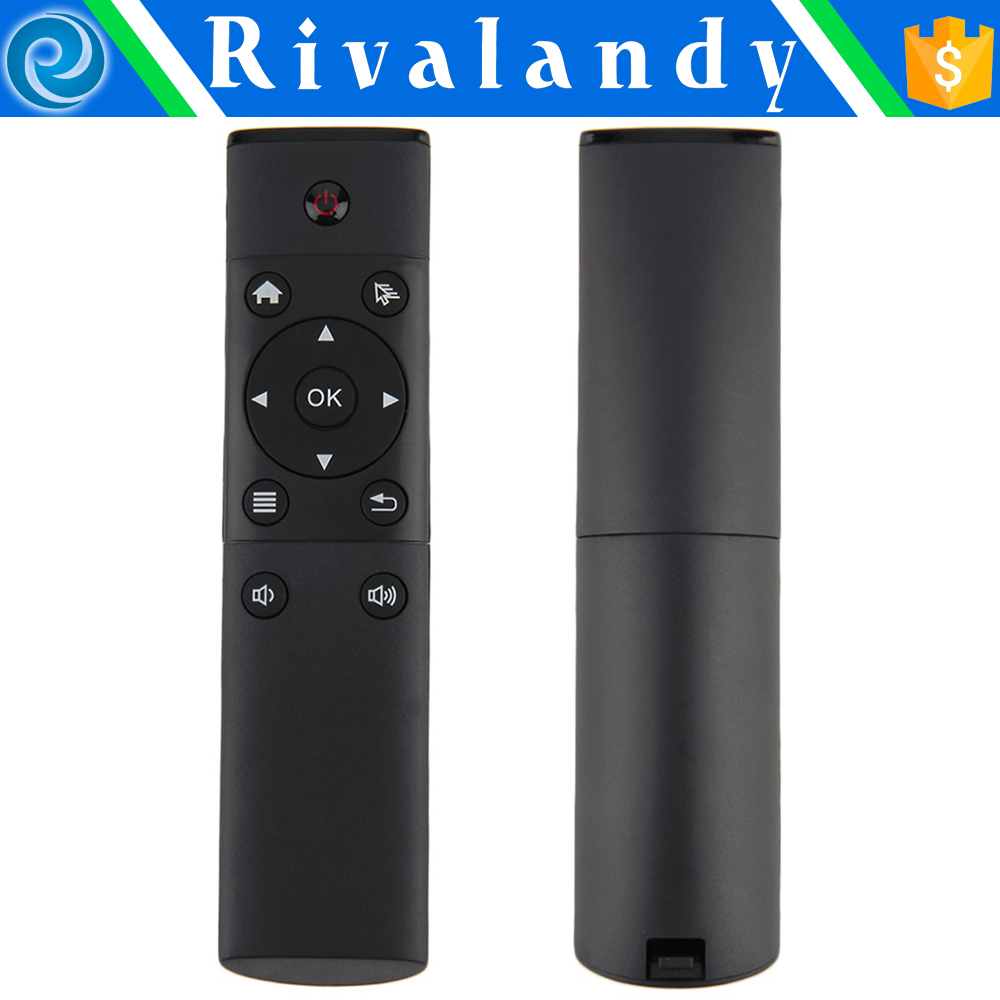 Nice hand held metal case universal wireless remote controller