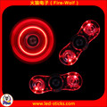 Colorful Crystal Hand Spinner For Pressure Relief And ON/OFF Switch Control LED Fidget Spinner Manufacturer China