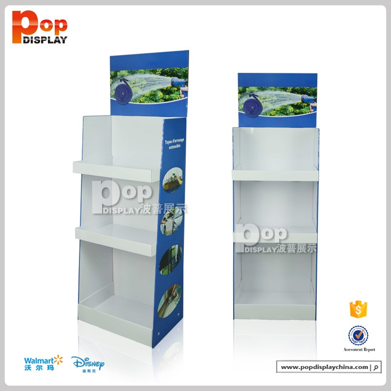 full color tailor designed clothing retailers shopping mall display stand