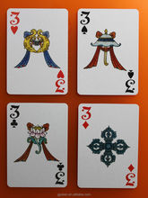 plastic coated kem quality promotional cards wholesale national cultural costumes customized playing cards