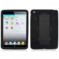 iPad Mini Armor Hybrid Black Case with Stand