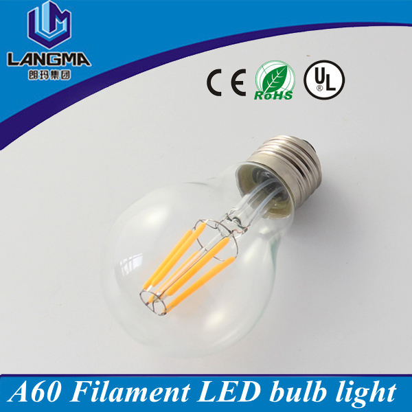 120V AC input e26 e27 base soft white 2700k dimmable ul certified led bulb
