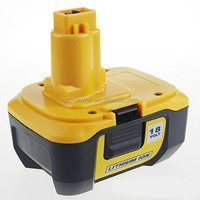 2014 high quality replacement dewalt DC9180 18V 3.0A li-ion power tool battery manufacturer