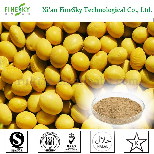 Wholesale 40% Soy Isoflavone Soybean Extract Powder in bulk