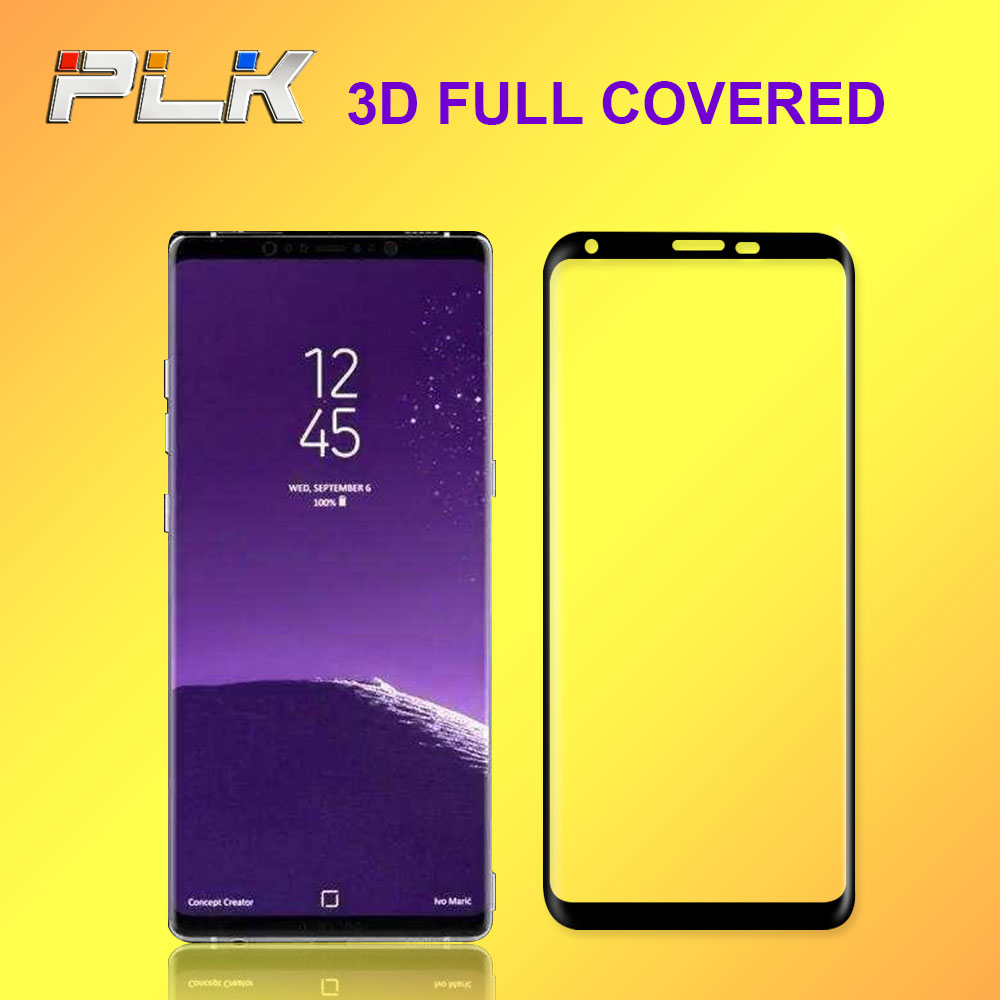 Top Seller Good Quality Phone Screen Protector, 9H Bare Machine Touch Tempered Glass Guard For Galaxy Note 8*
