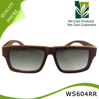 2015 Hot selling high quality bamboo and wood sunglasses