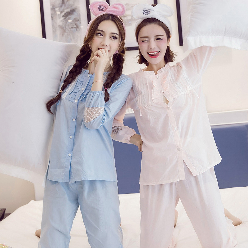 Online Shopping Cloth Ladies Wholesale Plain White Bule Cotton Nightshirts For Women