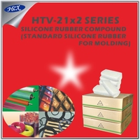 HTV-21x2 series Solid HTV silicone rubber compound high grade for molding raw material