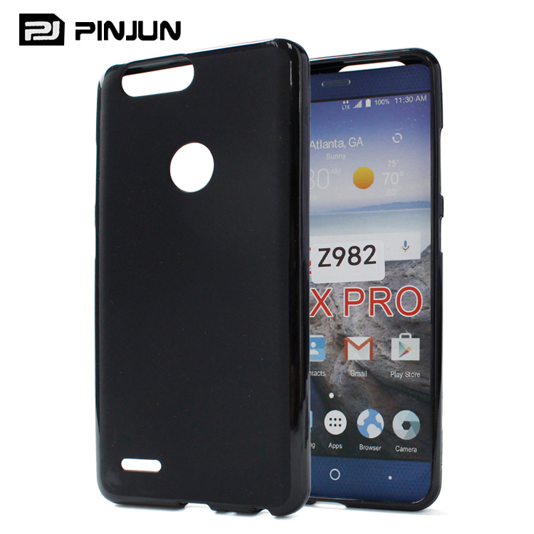 Slim matte rubber case tpu cover case for zte blade z max pro 2 z982,for zte sequoia tpu case