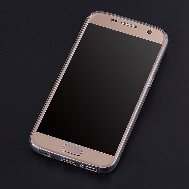 Transparent Clear Plastic Fashion Mobile Phone Cover Case For Samsung C3222