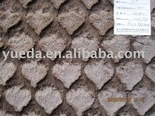 PV plush crushed fabric