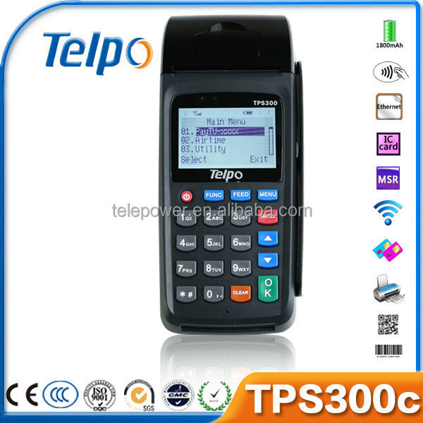 Telpo Magnetic Card Reader/RFID POS System with Keypad