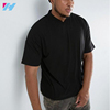 Plain Black Slim Fit Stretch Cotton