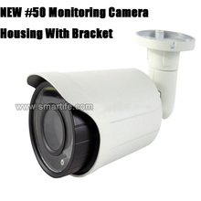 ip camera housing outdoor metal 24pcs LED bullet monitoring security cctv camera housing shell case cover
