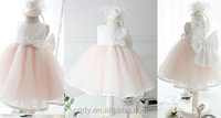 2015 New Fashion Party Frock Design Western Princess Dress Short Sleeve A-line Fluffy Fashin Flower Dress For Girl of 2-12years