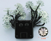 Christmas led flower tree light blossom lights, solar lotus string light