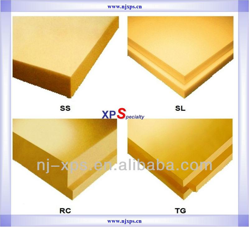 Extrud polystyr ne mousse xps panneau isolant planches xps id de produit 585 - Isolant polystyrene extrude ...