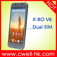 X-BO V6 Android Smartphone 5.5 Inch QHD Touch Screen Dual SIM Card 5.0MP Camera WIFI GPS