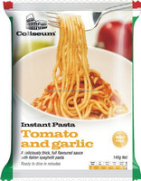 Wholesale Halal instant pasta noodles tomato and garlic flavour