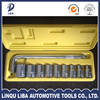Full polished Indusrial class wrench impact socket tool set