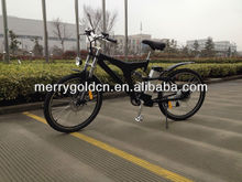 buy green sport MTB electric bike bicycle with 500W motor