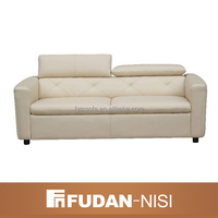 Cheap living room white leather chesterfield sofa Germany