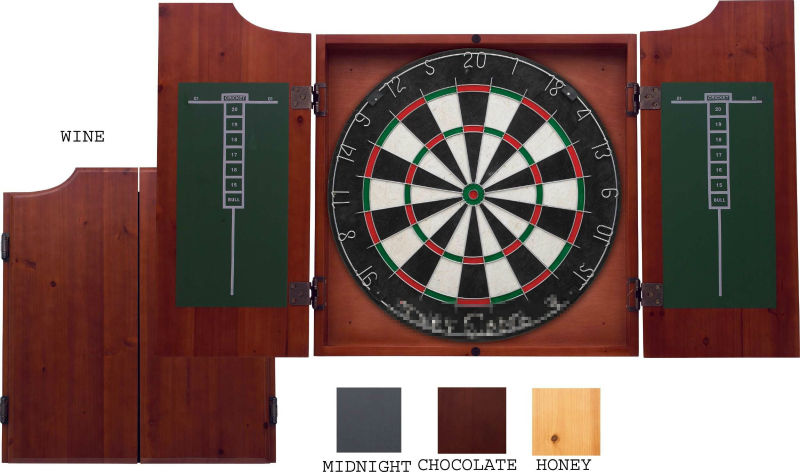 Custom design MDF Dart Board Cabinets