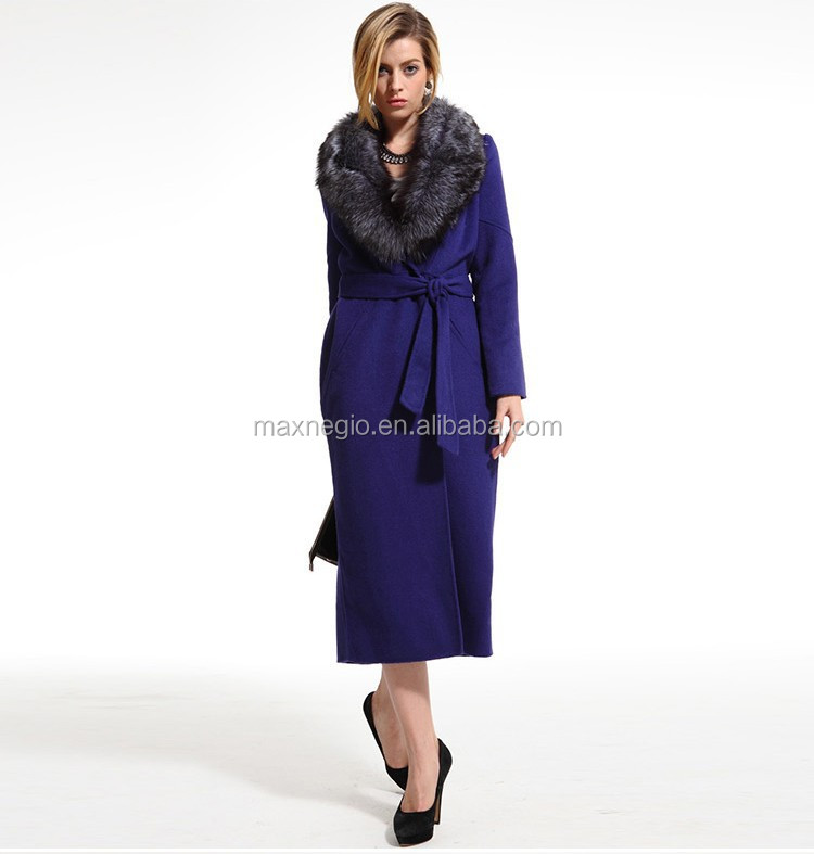 cashmere formal hand made ladies long coats
