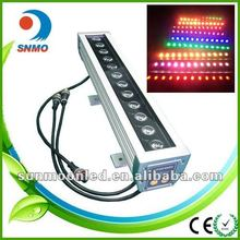 dmx512 120v 230v 3in1 mini colorful led wall washer