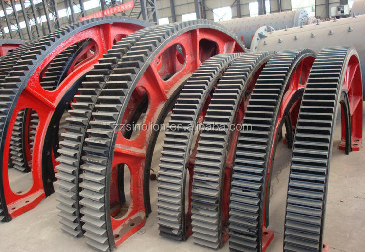 Cement Plant Spur Ball mill Pinion Gear for Ball Mill