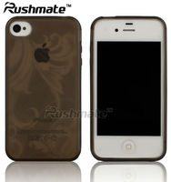 Trumpet Flower Soft Gel TPU Case Cover Skin For Apple iphone 4G 4S